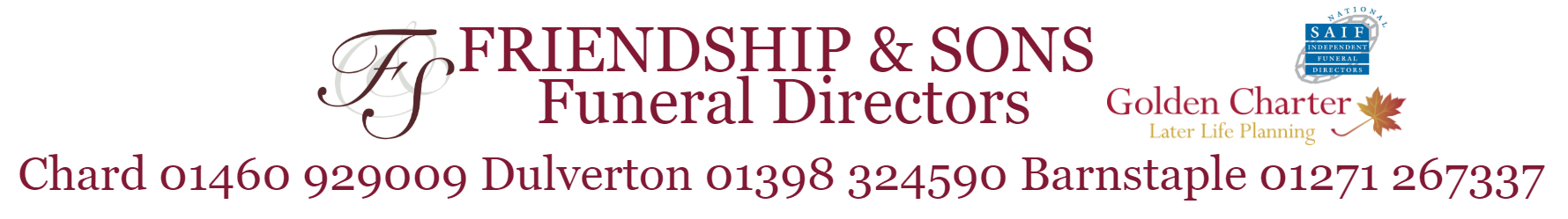 friendship and sons funeral directrors finance loan